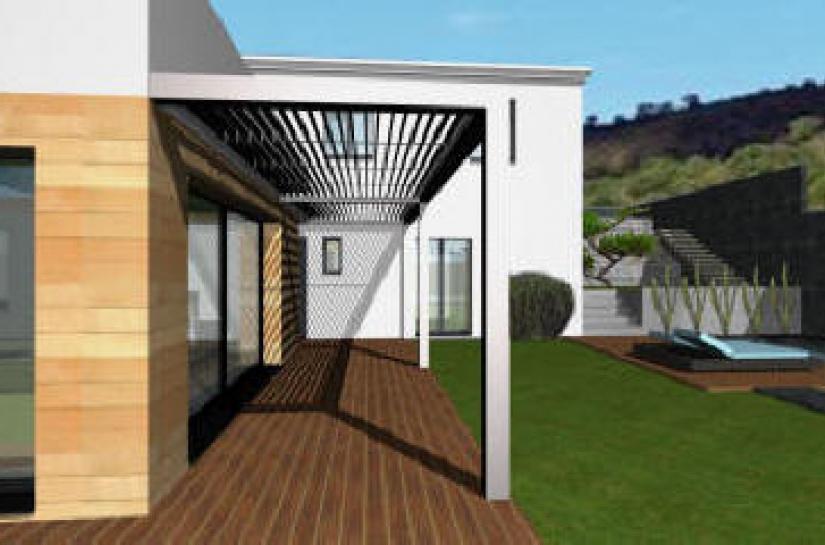 Projet de maison individuelle sur Vitrolles