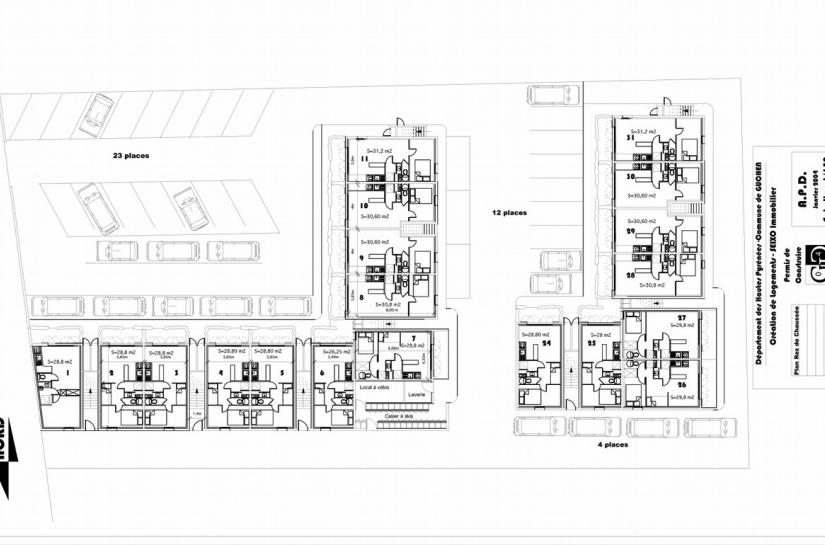 Architecture Eric Agro Plan général