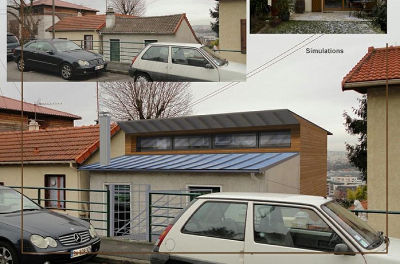 Surelevation d'une maison individuelle