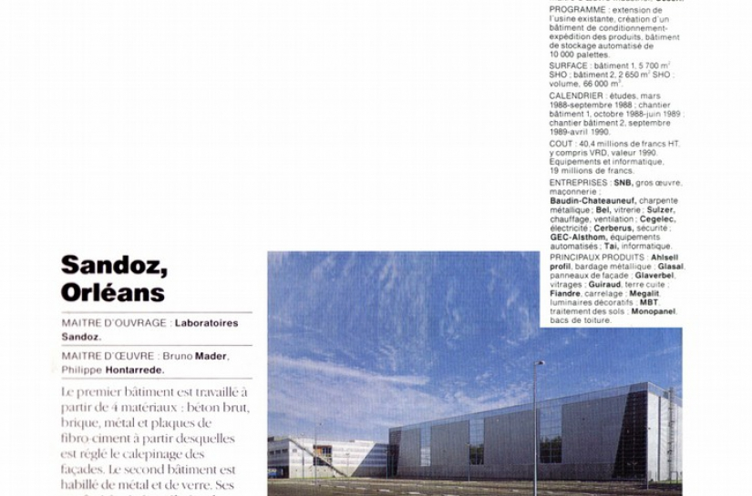 Le Moniteur Architecture n°17 1990