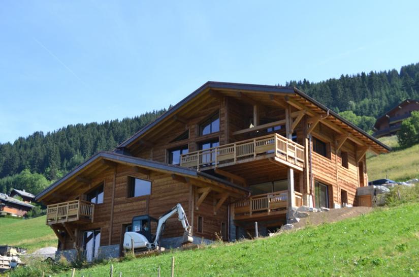 Conception d'un chalet de 600 m² dans la station de ski de Châtel (Haute-Savoie)